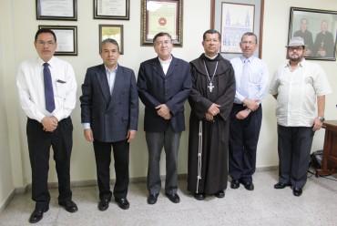 MONSEÑOR MIGUEL ANGEL MORÁN AQUINO NUEVO RECTOR DE LA UNIVERSIDAD CATÓLICA DE EL SALVADOR