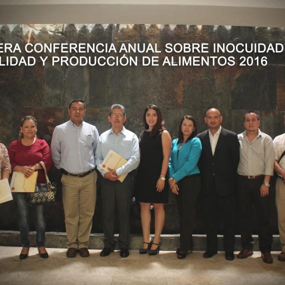 TERCERA CONFERENCIA DE INOCUIDAD, CALIDAD Y PRODUCCIÓN DE ALIMENTO