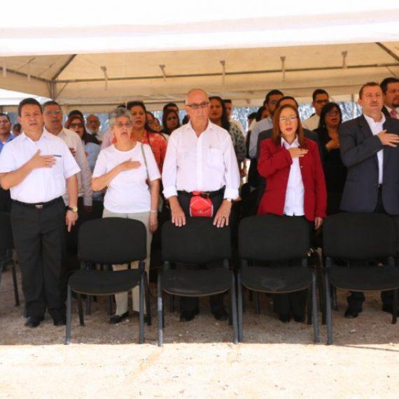 ACTO DE COLOCACIÓN DE LA PRIMERA PIEDRA DE NUEVOS EDIFICIOS EN LA UNIVERSIDAD CATÓLICA DE EL SALVADOR