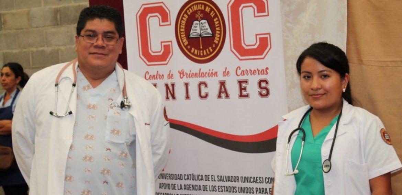 DOCENTES Y ESTUDIANTES DEL DOCTORADO EN MEDICINA APOYAN JORNADAS DE SALUD EN SANTA ANA