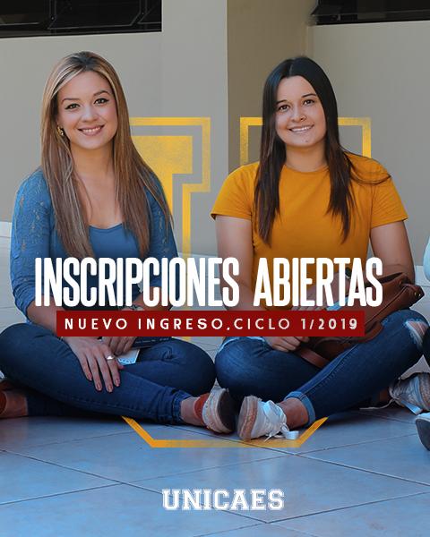 Universidad Catolica de El Salvador - UNICAES Nuevo Ingreso 2019