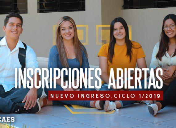 Nuevo Ingreso Ciclo I-2019