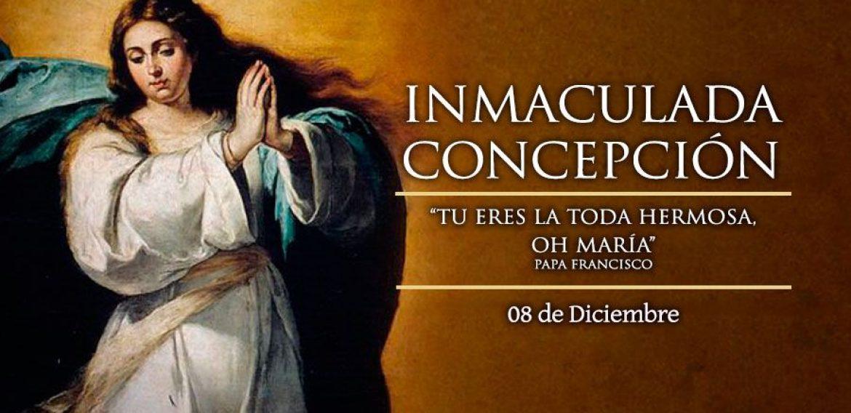 FELICES FIESTAS: PARROQUIA INMACULADA CONCEPCIÓN DE MARÍA