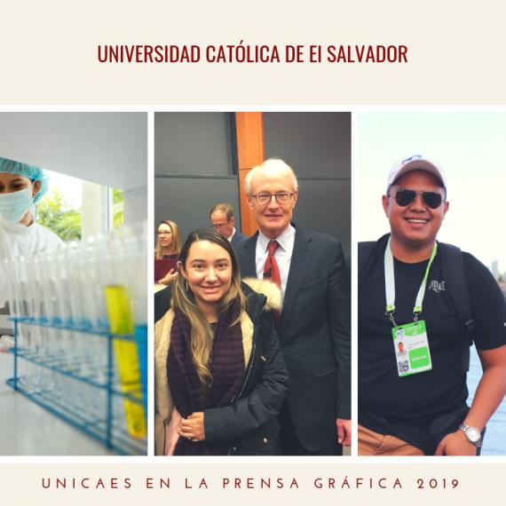 UNICAES EN LA PRENSA GRÁFICA: FEBRERO, 2019