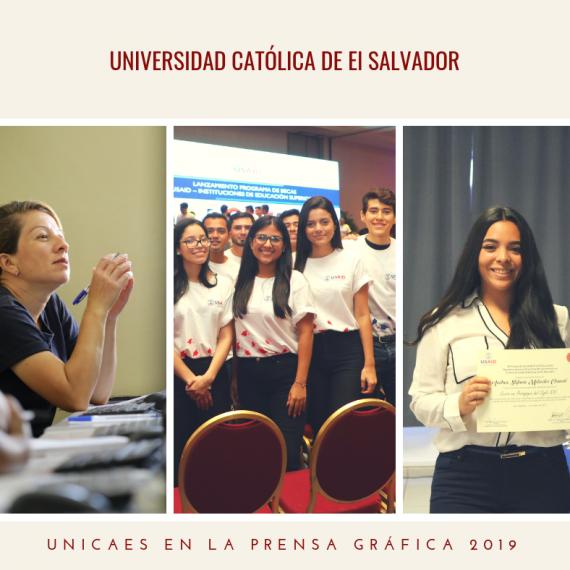 UNICAES EN LA PRENSA GRÁFICA, MARZO 2019