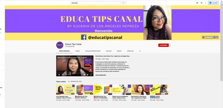 Msc. Eugenia Repreza, al ritmo de la generación que prefiere ver YouTube que televisión