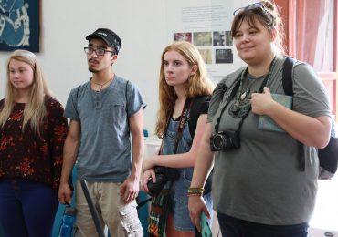 Intercambio internacional entre Arkansas State University at Beebe y UNICAES