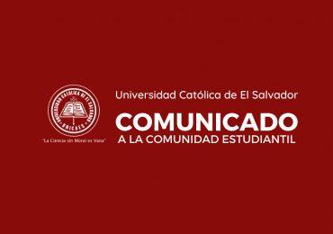 24/III/20: Mensaje a Comunidad Universitaria