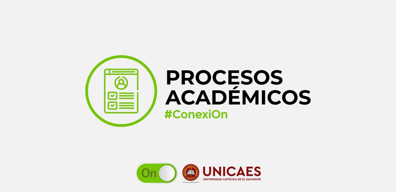 Procesos Académicos | Ciclo II-2020 UNICAES