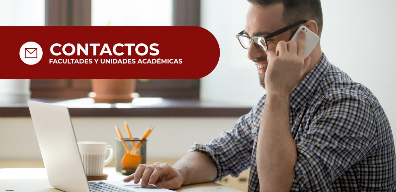 Contactos – Facultades y Unidades Académicas UNICAES