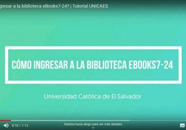 Biblioteca UNICAES presenta un acervo bibliográfico en línea