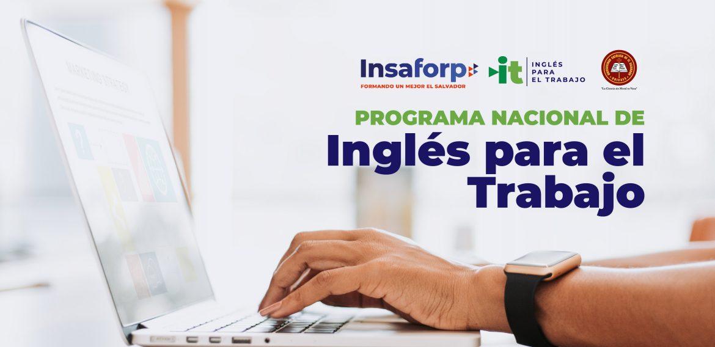Programa Nacional de Inglés para el Trabajo – Insaforp