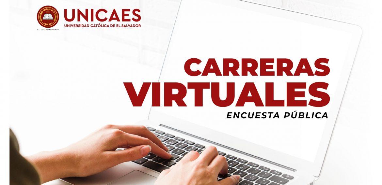 Estudio de Demanda de Carreras en Modalidad 100% Virtual.
