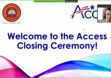 Séptima graduación del Programa English Access, en UNICAES