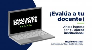 Evaluación Docente UNICAES Ciclo 2/2021